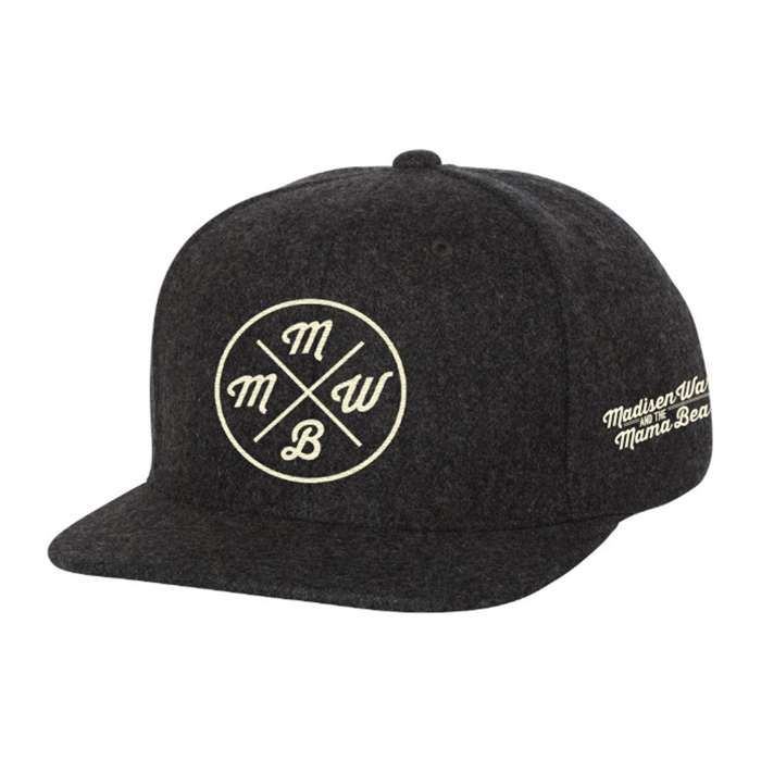Logo Snapback Hat - Madisen Ward and the Mama Bear