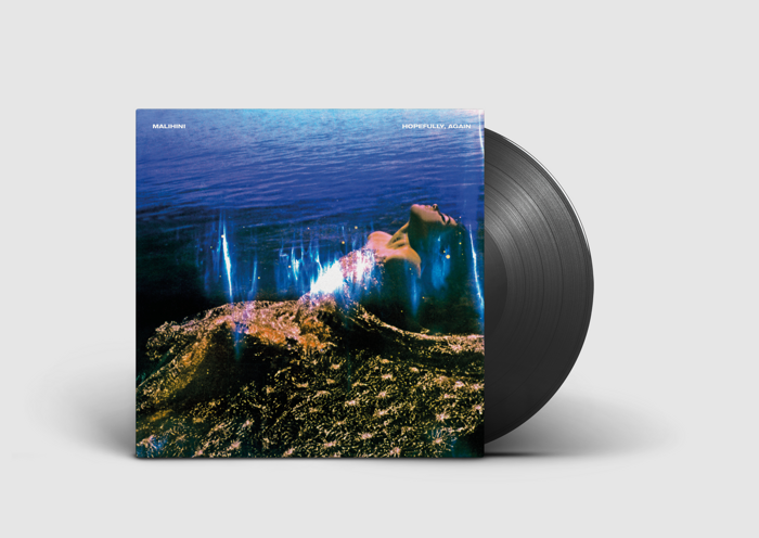 'Hopefully, Again' black 180g vinyl (includes instant download of title track) - malihini