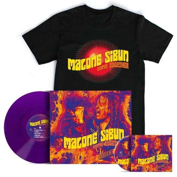 CD + PURPLE LP + T-SHIRT - Malone Sibun