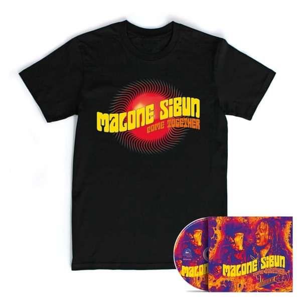 CD + T-Shirt - Malone Sibun