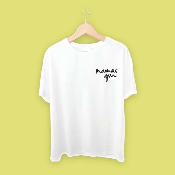 Mamas Gun T-shirt (White) - Mamas Gun