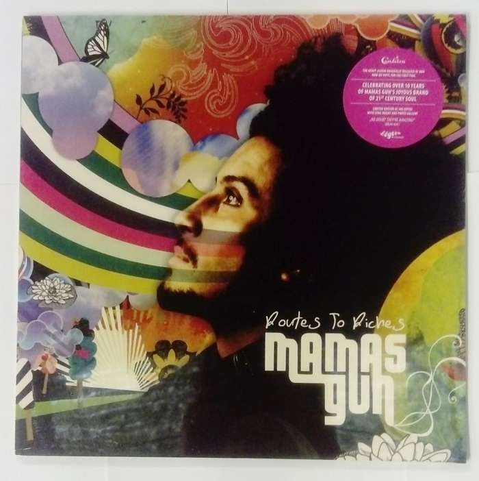 Signed Routes to Riches Vinyl - Mamas Gun