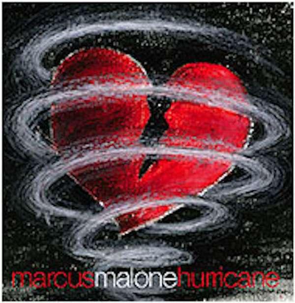SIGNED HURRICANE CD - Marcus Malone