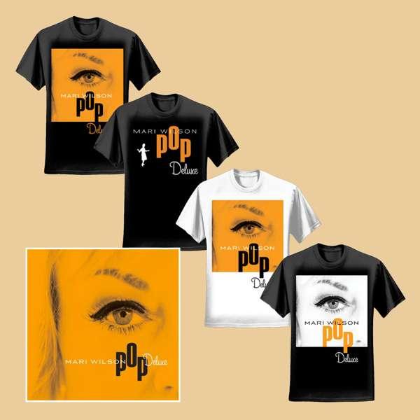 Pop Deluxe + T-Shirt - Mari Wilson