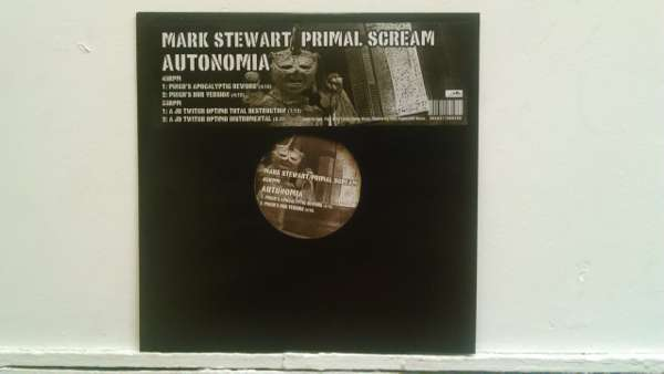 """Autonomia Remix EP 12"""" - Mark Stewart"""