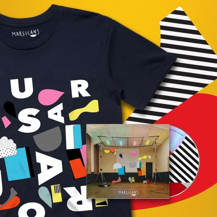 Ursa Major (Signed CD + T-shirt Bundle) - Marsicans