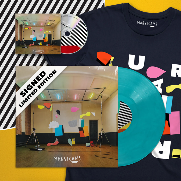 Ursa Major (Signed Ltd Ed. Blue Vinyl + CD + T-shirt Bundle) - Marsicans