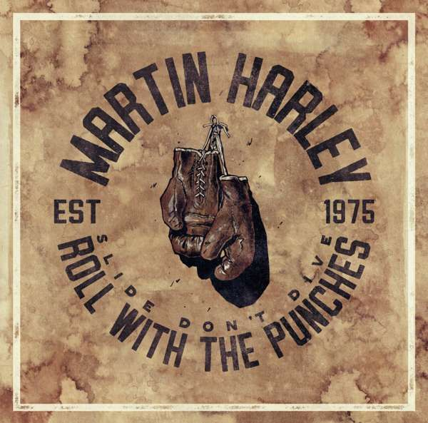 Ticket + 'Roll with the Punches' CD Preorder Bundle - Martin Harley