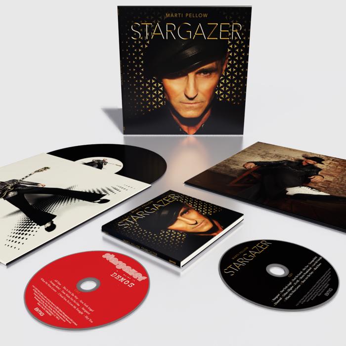 Stargazer Signed Bundle (Deluxe 2xCD + Gatefold 2xVinyl) - Marti Pellow