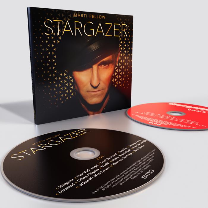 Stargazer (Signed Deluxe 2xCD) - Marti Pellow