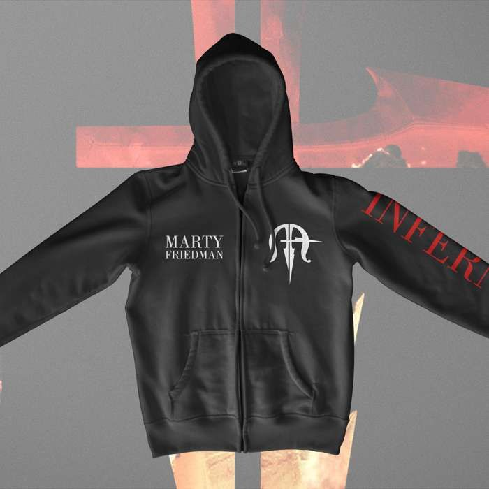 Marty Friedman - Inferno Tour Zipped Hoody - Marty Friedman