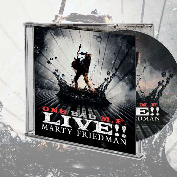 Marty Friedman - 'One Bad M.F. Live!!' CD - Marty Friedman