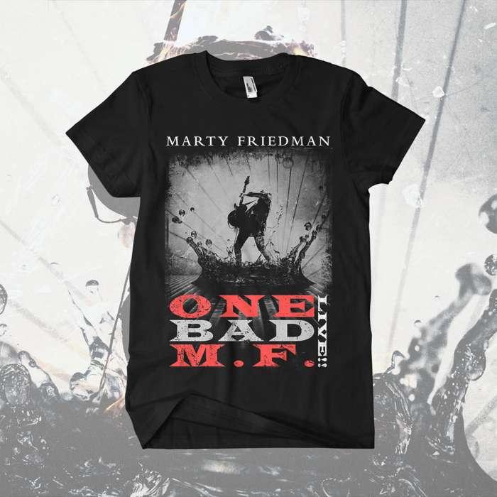 Marty Friedman - ''One Bad M.F. Live!!' T-Shirt - Marty Friedman
