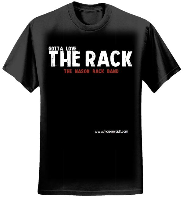 Men's Limited Edition T-shirt 01 - Mason Rack Band