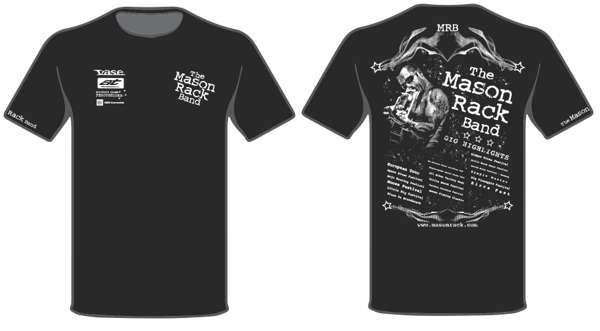 MRB Highlights T-Shirt - Mason Rack Band
