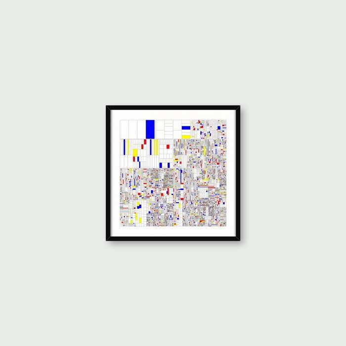 A3 - Yearning for the Infinite Remixed - Giclée Art Print - Max Cooper Store Front