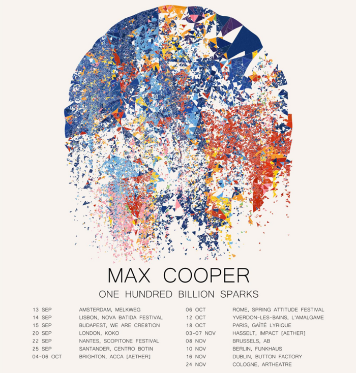 One Hundred Billion Sparks (Ticket bundle) - Max Cooper Believe