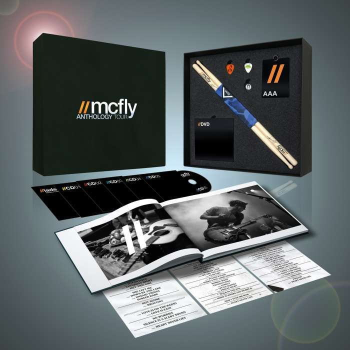 Anthology Tour Deluxe Boxset (Limited Edition) - McFly