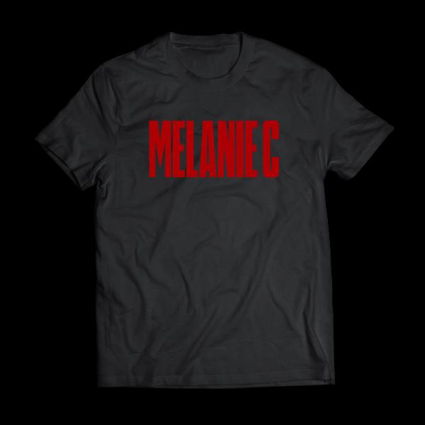 Melanie C - Black/Red T-shirt - Melanie C