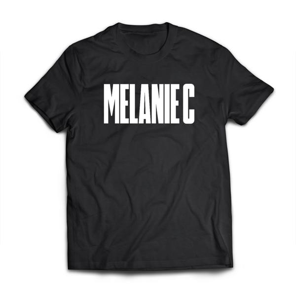 Melanie C - Black/White T-shirt - Melanie C