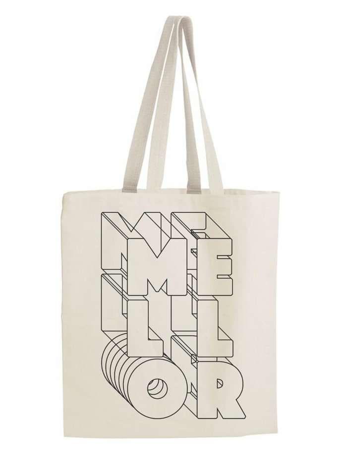 Mellor Print Tote Bag - Mellor