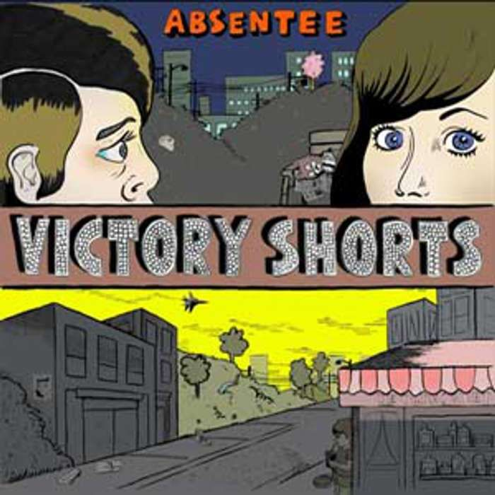 Absentee - Victory Shorts - CD - Memphis Industries