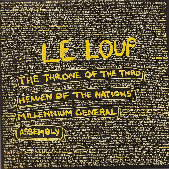 Le Loup - The Throne of the Third Heaven of the Nations' Millennium General Assembly - CD - Memphis Industries