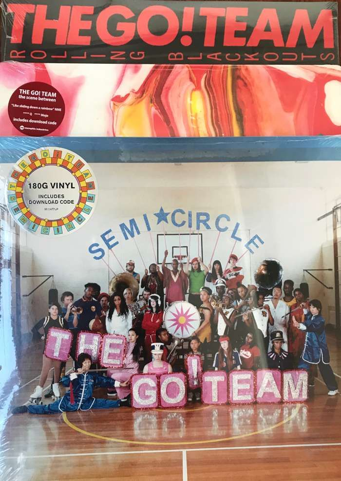 The Go! Team 2011-2018 on Vinyl - Memphis Industries