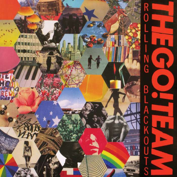 The Go! Team - Rolling Blackouts LP - Memphis Industries