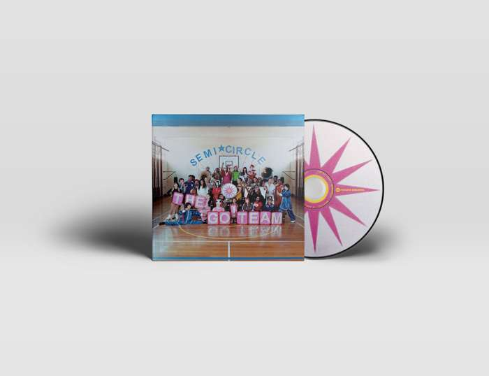 The Go! Team – SEMICIRCLE - CD - Memphis Industries