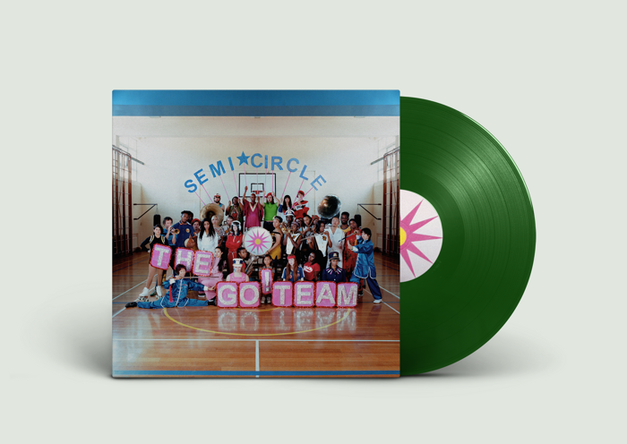 The Go! Team – SEMICIRCLE - LP - Memphis Industries