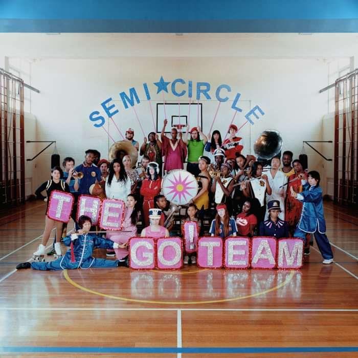 The Go! Team – SEMICIRCLE - LP - Memphis Industries