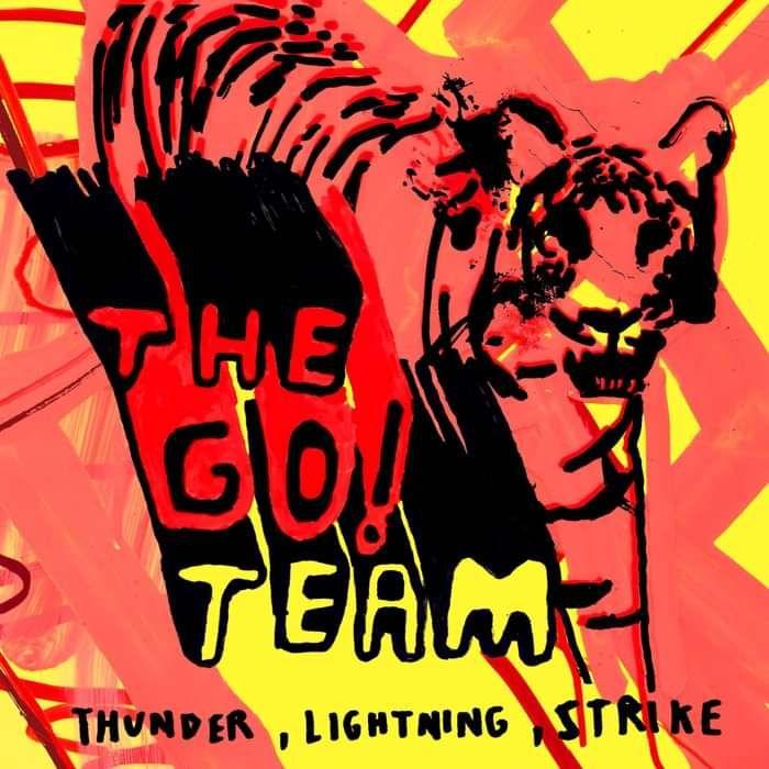 The Go! Team - Thunder Lightning Strike 2019 Reissue - Silver LP - Memphis Industries