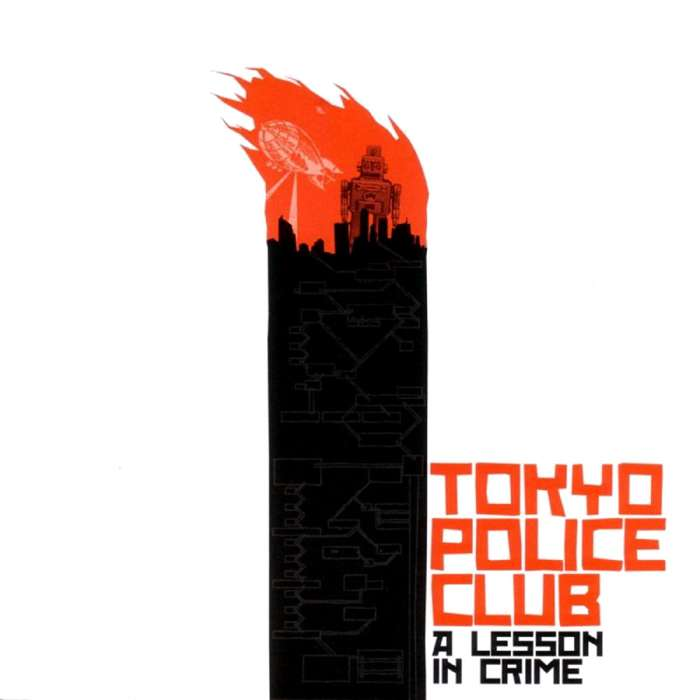 Tokyo Police Club - A Lesson in Crime - CD - Memphis Industries