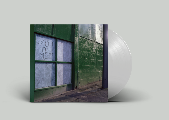 You Tell Me - Signed White LP - Memphis Industries