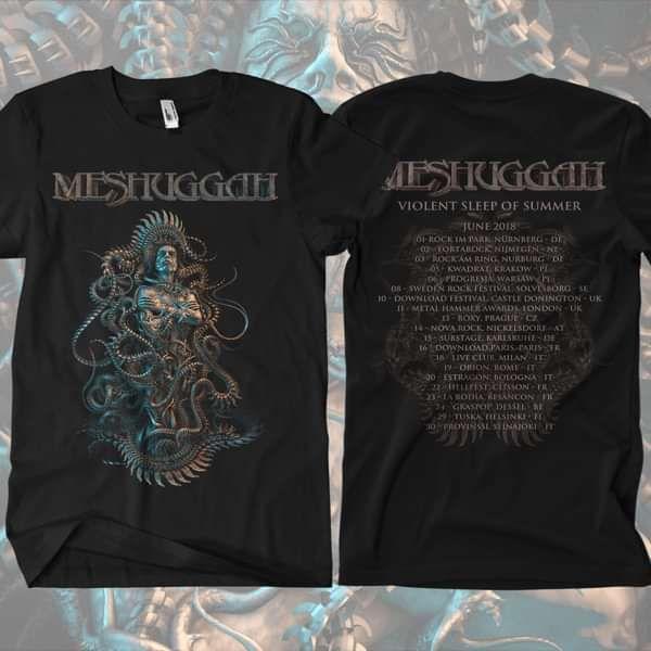 Meshuggah - 2018 Tour T-Shirt - Meshuggah