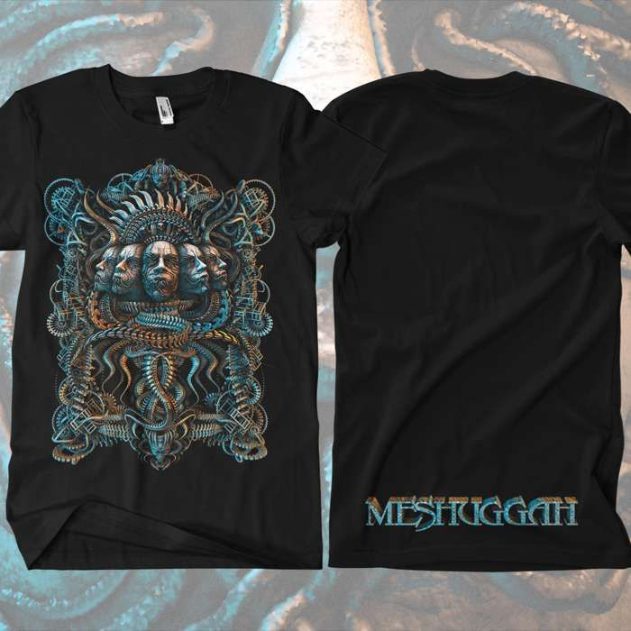 Meshuggah - 5 Faces T-Shirt - Meshuggah