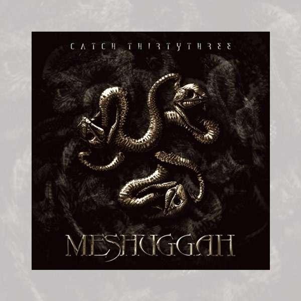 Meshuggah - 'Catch Thirtythree' Black 2LP - Meshuggah