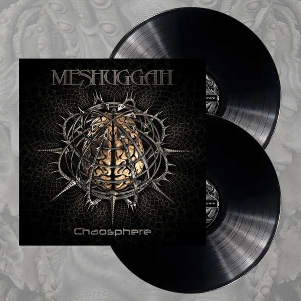 Meshuggah - 'Chaosphere' Black 2LP - Meshuggah