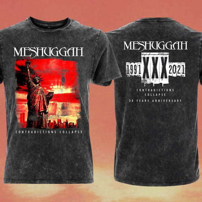 Meshuggah - 'Contradictions Collapse' Limited Edition 30th Anniversary T-Shirt - Meshuggah