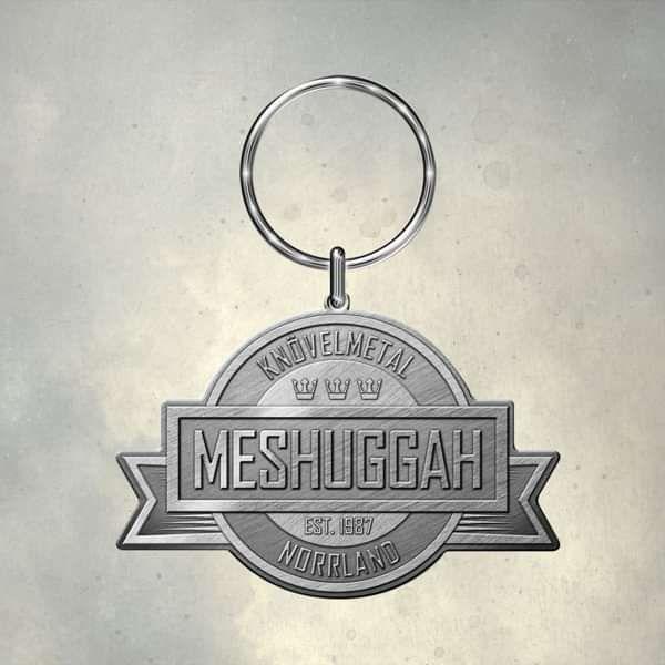 Meshuggah - 'Crest' Metal Keyring - Meshuggah