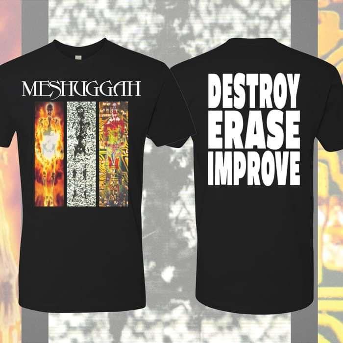 Meshuggah - 'Destroy Erase Improve' 25th Anniversary T-Shirt - Meshuggah