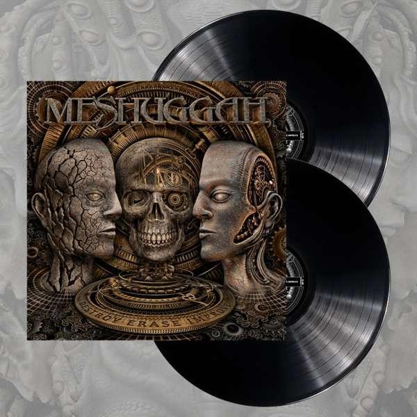 Meshuggah - 'Destroy Erase Improve' Black 2LP - Meshuggah