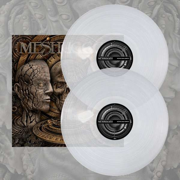 Meshuggah - 'Destroy Erase Improve' Clear 2LP - Meshuggah