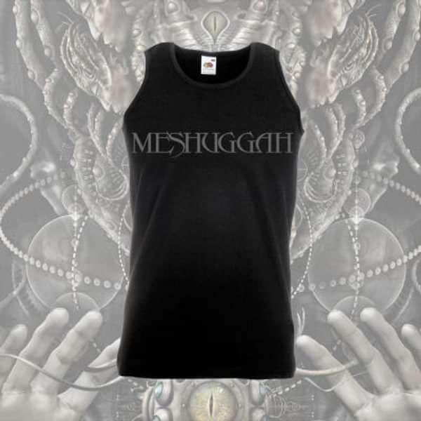 Meshuggah -  Logo Black Vest - Meshuggah
