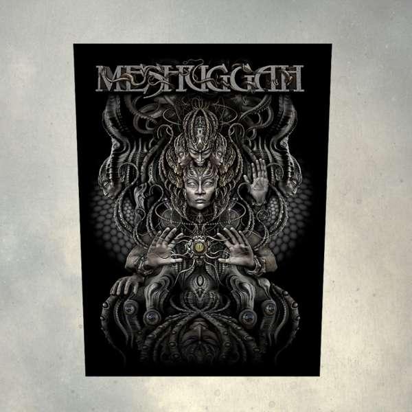 Meshuggah - 'Musical Deviance' Back Patch - Meshuggah