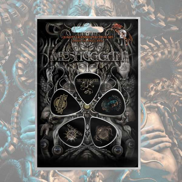 Meshuggah - 'Musical Deviance' Plectrum Pack - Meshuggah