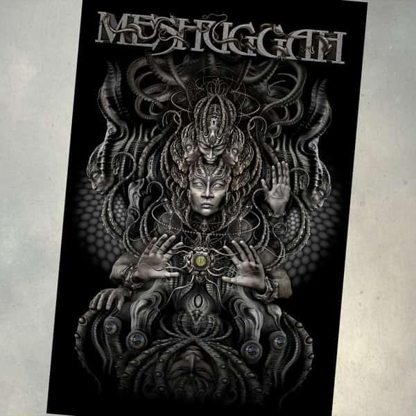 Meshuggah - 'Musical Deviance' Textile Poster - Meshuggah