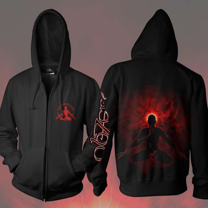 Meshuggah - 'Obzen' Zipped Hoody - Meshuggah