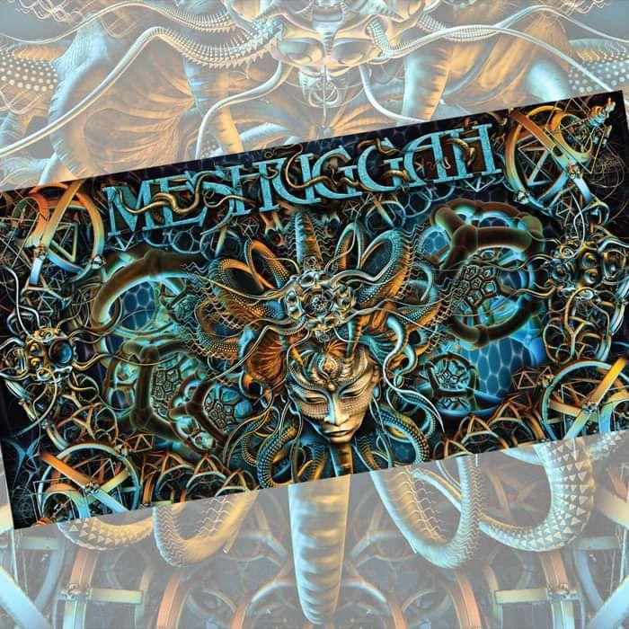 Meshuggah - 'Octopocephalus' Bath Towel - Meshuggah
